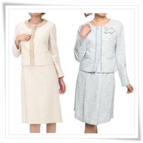 ファッションレンタル入学式スーツのスーツの画像