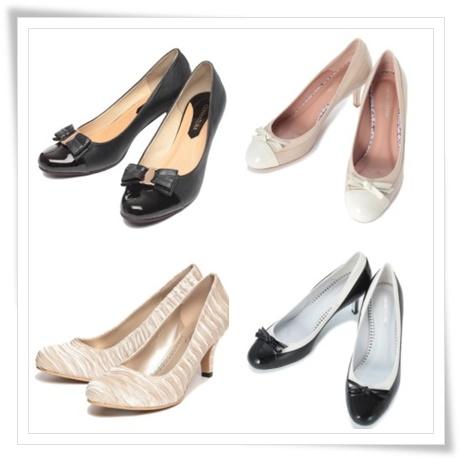 ファッションレンタル入学式スーツの靴の画像